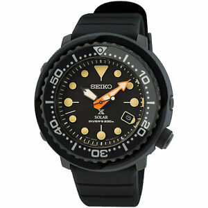 SEIKO Prospex SNE577P1 Solar Tuna 200M Diver 5000 PCS Limited Black IP