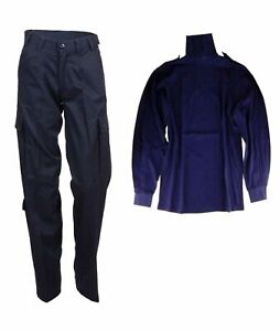 Combat Trouser Security Original Dutch Army + British Norgie Shirt Navy Blue NEW