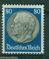 Deutsches Reich  Einzelwerte aus  482 - 495 , ** , * ,- Hindenburg WZ 2