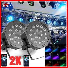 1/2/6x 72W 36LED RGB Stage Light Par Lighting Club DJ Party Disco DMX512 Control