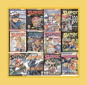 Super Play – Super Nintendo Uk Magazine – Complete Run - PDF Download