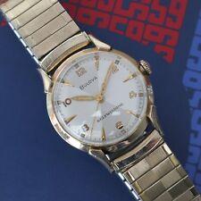 Vintage 1959 Men's Bulova Royal Clipper 17 Jewel 11AFAC Automatic Wrist Watch