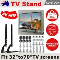 Universal Table Top TV Stand Legs for Most LED LCD Plasma Flat Screen TV 32-70""