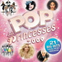Various Artists : Pop Princesses 2009 CD Album with DVD 2 discs (2009)
