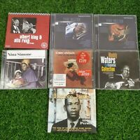 Blues Music CD Bundle x 7 -Albert King Nina Simone muddy Waters Robert Johsnon