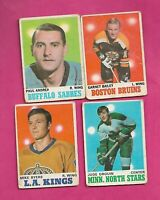1970-71 OPC NHL PLAYERS  ROOKIE CARD LOT  (INV# H151)