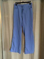 Grey's Anatomy 5 Pocket Blue Drawstring Scrub Pants Size X-Small Xs