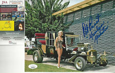 The Munsters Pat Priest  (Marilyn) Autographed 8x10 color Photo  JSA Certified *