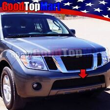 For Nissan PATHFINDER 2008-2011 2012 1PC Bumper Black Billet Grille OVERLAY