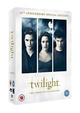 "THE TWILIGHT SAGA 10TH ANNIVERSARY SPECIAL EDITION 11 DISC DVD BOX SET ""NEW"""
