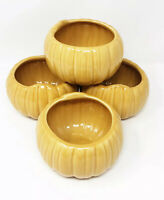 VTG Williams-Sonoma Autumn Harvest 4 Piece Set Pumpkin Serving Bowls Soup Stew
