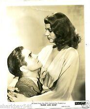 BLOOD AND SAND 1941 Tyrone Power Rita Hayworth Original Movie Still