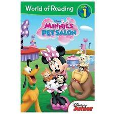 NEW - World of Reading: Minnie Minnie's Pet Salon: Level 1