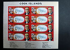 Cook Islands Scott 264 S.G. 306 Sheet of 8 Pacific Conference