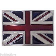 3D enamel BRITISH Flag England UK Belt Buckle United Kingdom