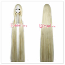 Hot 60inch/150cm Extra Long Straight blonde #613 cosplay party wig ZY50J+COMB