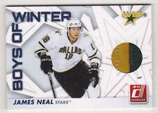 10-11 Donruss James Neal /100 Boys Of Winter Jersey Prime Stars 2010