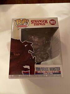 """Funko POP! Stranger Things Tom/Bruce 6"""" Monster Vinyl Figure #903 with Protector"""