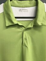 ✔️⛳️Nike Golf Men's Activewear Short Sleeve Polo Shirt Size 2XL Green⛳️✔️