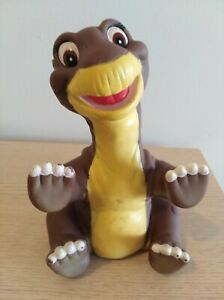 """""""Littlefoot"""" Dinosaur 1988 The Land Before Time Pizza Hut Collectable Puppet Toy"""