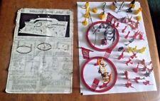 Louis Marx Super circus, plan de mise en page, figures, animaux etc, vintage toy