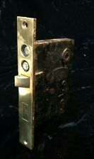 Antique Refurbished Sargent #6354 Bronze double Push button Entry Mortise Lock