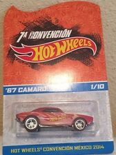 "Hot Wheels 2014 Mexico Convention '67 Camaro 1/10 ""MOC"""