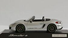 PORSCHE Boxster E 1:43 SPARK Limited Edition Porsche dealer's box WAP0202040F