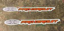 """Factory Effex Pro Circut 2 Pack Stickers approximately 3""""-8"""" wide FX04-2694"""