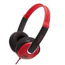 Groov-e Gv590rb Kids DJ Style Headphone - Red Black