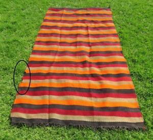 "Authentic Handmade Moroccan Handira Rug Moroccan Carpet 11' x 5'1"""