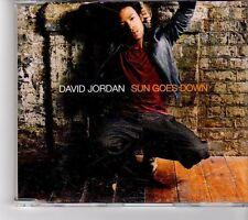 (FM269) David Jordan, Sun Goes Down - 2007 CD