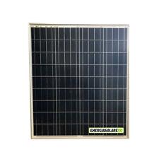 Pannello Solare Fotovoltaico 80W 12V 4 BUS BAR Camper Barca impianto Baita