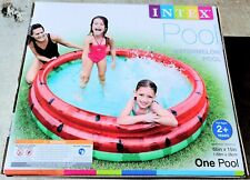 Intex Watermelon Inflatable Kids Pool