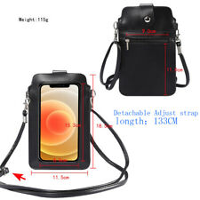 Lightweight Leather Phone Purse Crossbody Shoulder Bag For Iphone 12 11 XS Max