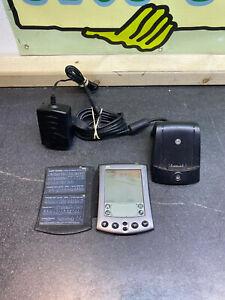 Vintage Palm M500 PDA  Handheld Electronic Organiser WORKING + CHARGER UK