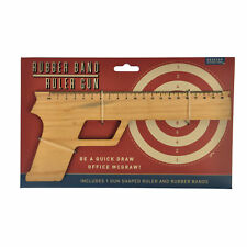 Rubber Band Ruler Gun