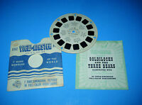 Viewmaster Reel Vtg 1946 GOLDILOCKS & THE THREE BEARS Fairy Tale + Booklet FT6