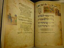 1985 Die LONDONER HAGGADA Ashkenazi Haggadah ILLUMINATED MANUSCRIPT Facsimile