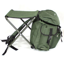 Abode® Camping Hiking Travel Rucksack Festival Stool Seat Back Pack Bag