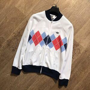Adidas Jacket Ivan Lendl Tennis Ventex 80's Vintage Jacket  Size S/168