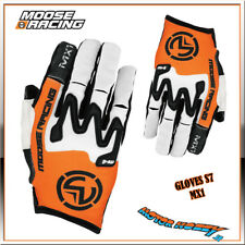 GUANTO CROSS ENDURO MOOSE RACING GLOVE S7 MX1 ARANCIO BIANCO ARANCIO TAGLIA S