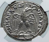MACRINUS Authentic Ancient Seleukis and Pieria Tetradrachm Roman Coin NGC i86175