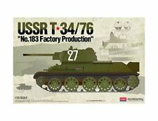 Academy 1/35 T-34/76 No.183 Factory production