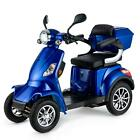 VELECO 4 wheeled Electric mobility scooter FASTER Lithium Ion 1000W