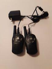 Cobra MicroTalk GMRS/FRS Walkie Talkie 2 Way Radios - Black