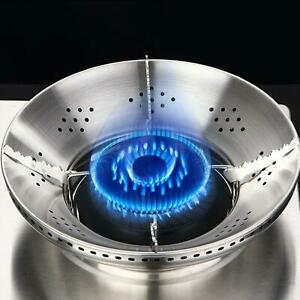 Stainless Steel Energy Saving Gas Cooker Windproof Cover Fire Gathering Gas GDM