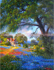 Summer In Countryside DIY bead embroidery kit beaded paint set stitching beading