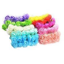 120 head 2.5cm rose flowers Artificial Rose Flower Wedding Bride Bouquet diy