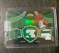 2007 Topps Triple Threads Paul Pierce 02/18 Card Game Used Relic TTR-79 EMERALD